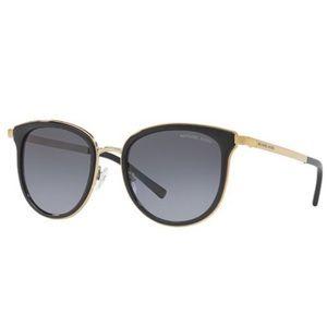 Michael Kors Black Gold Adrianna I Sunglasses